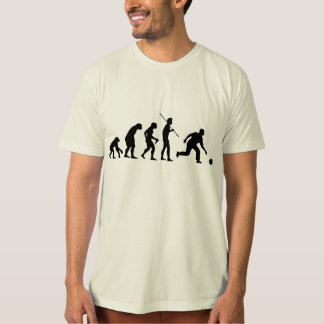 bowling evolution from man to bowler T-Shirt