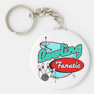 Bowling Fanatic Key Ring