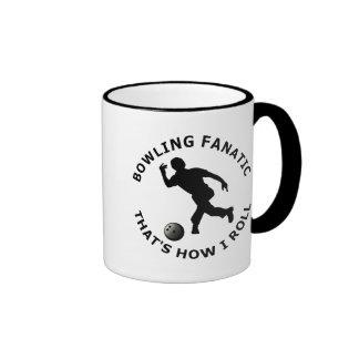 Bowling Fanatic  That's How I Roll Mug