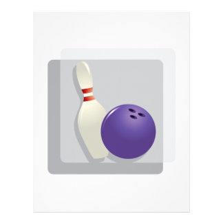Bowling Full Color Flyer