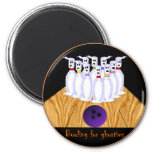 Bowling for Ghosties Refrigerator Magnets