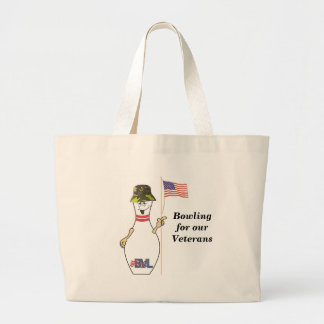 Bowling for our Veterans Canvas Bag