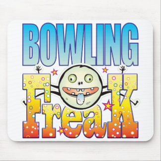 Bowling Freaky Freak Mouse Pad