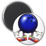 Bowling Fridge Magnets
