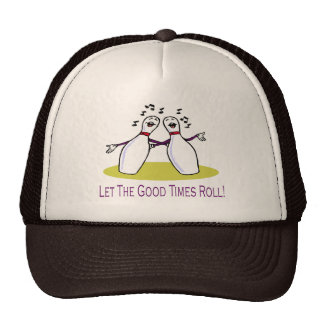 Bowling: Good Times Roll Hat