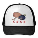 Bowling Hambone Mesh Hats