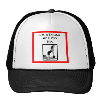 bowling mesh hat