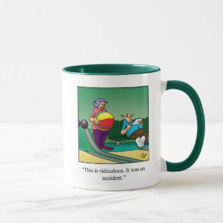 Bowling Humor Mug Gift