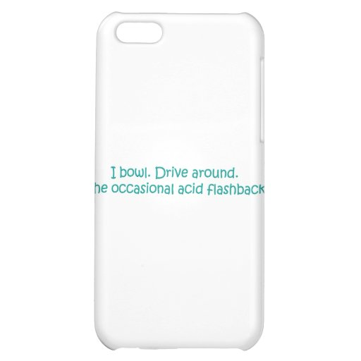 BOWLING iPhone 5C COVERS