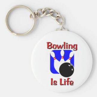 Bowling Is Life Keychain