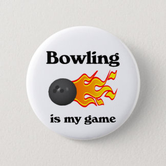 Bowling Is My Game Button