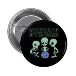 Bowling Is Out Of This World Pinback Button