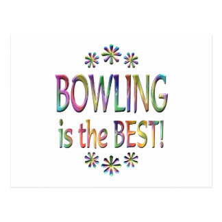 Bowling is the Best Postcard