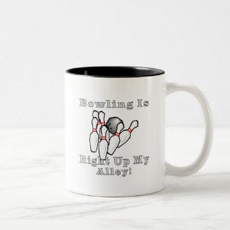 Bowling is Two-Tone coffee mug