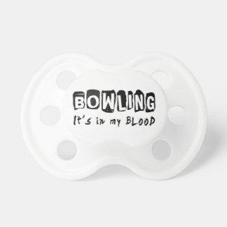 Bowling It's in my blood Dummy