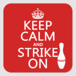 Bowling - Keep Calm and Strike On - all colours