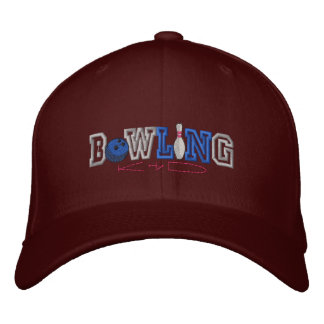 Bowling Kid Embroidered Hat