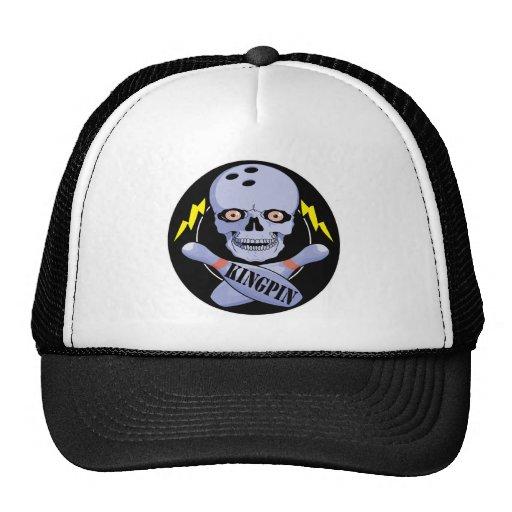 Bowling Kingpin Mesh Hat