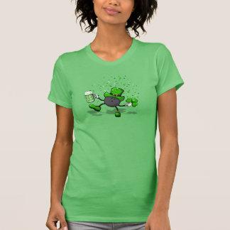 Bowling Leprechaun Dancing T-Shirt