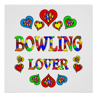 Bowling Lover Poster