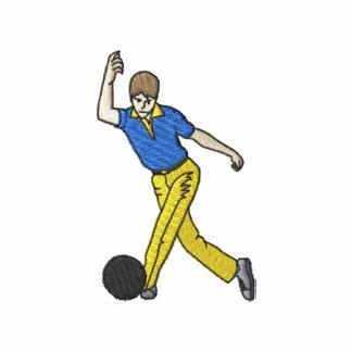 Bowling Man Polo Shirt