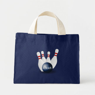 Bowling Mini Tote Bag