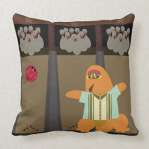 Bowling Monster Time Cushion