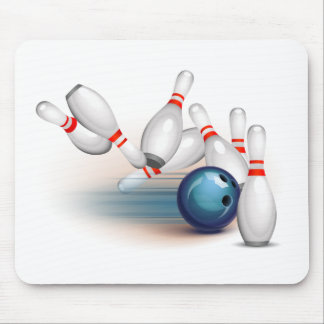 Bowling Mouse Mat