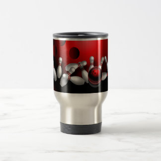 Bowling Stainless Steel Travel Mug