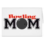 Bowling Mum Card