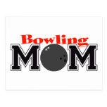 Bowling Mum Postcards