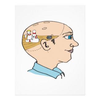 Bowling On The Brain 21.5 Cm X 28 Cm Flyer