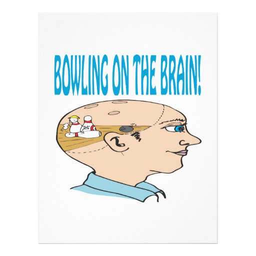 Bowling On The Brain Flyers