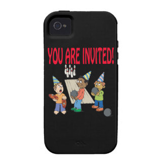 Bowling Party iPhone 4 Cover