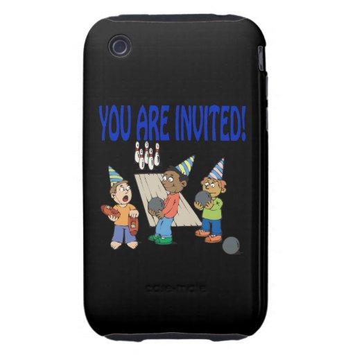 Bowling Party iPhone 3 Tough Case