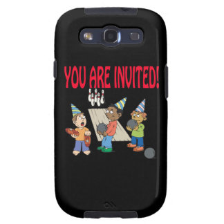 Bowling Party Samsung Galaxy S3 Case