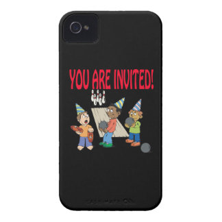 Bowling Party iPhone 4 Case-Mate Cases