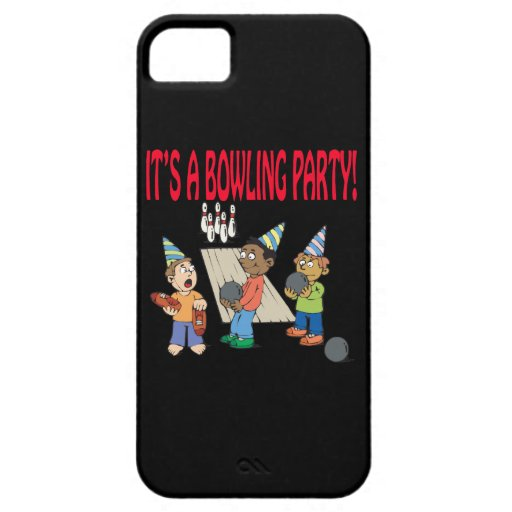 Bowling Party iPhone 5 Covers