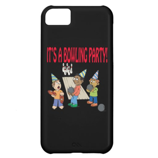 Bowling Party Case For iPhone 5C