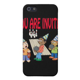 Bowling Party Cover For iPhone 5