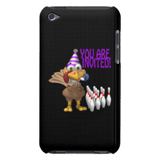 Bowling Party Invitation iPod Touch Case-Mate Case