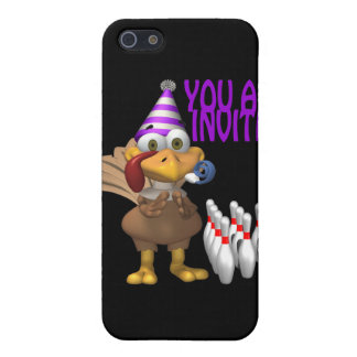 Bowling Party Invitation Cover For iPhone 5