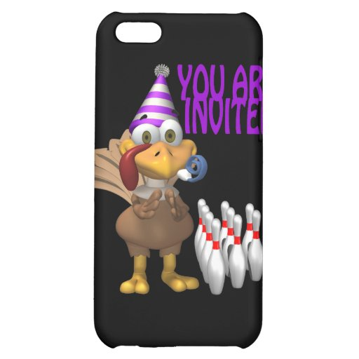 Bowling Party Invitation iPhone 5C Case
