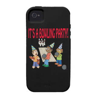 Bowling Party iPhone 4 Cases