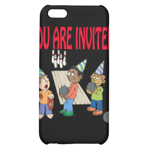 Bowling Party iPhone 5C Covers