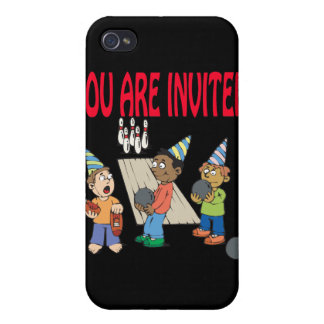Bowling Party iPhone 4/4S Covers