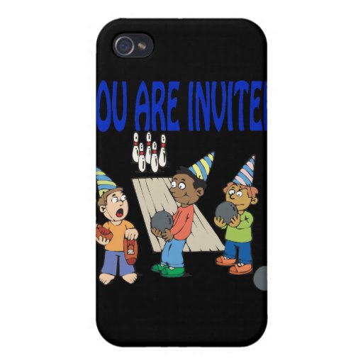 Bowling Party iPhone 4/4S Case