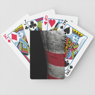 Bowling pin bicycle playing cards