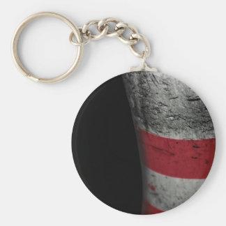 Bowling pin key ring
