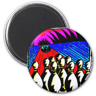 BOWLING PINS AND BALLS REFRIGERATOR MAGNETS